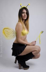 Model: Valeria NiKolova   Ph. Bruno Angelo Porcellana Mua Maddalenza Lanzarini e Aurora Alberghini