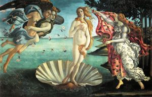 Botticelli_-_The_Birth_of_Venus-tile lr